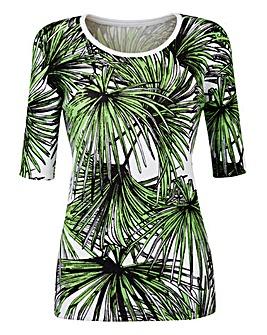 Palm Print Jumper