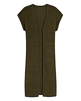 Longline Edge-to-Edge Cardigan