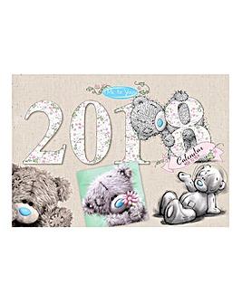 Me To You 2018 Organiser Calendar