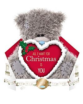 Me To You Christmas Love Heart Plush