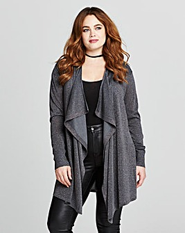 WATERFALL METALLIC CARDIGAN