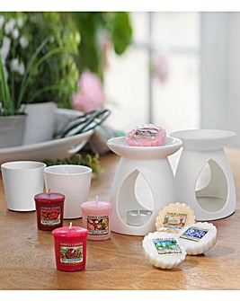 Yankee Double Warmer and Votive Bundle
