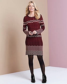 Knitted Jacquard Dress