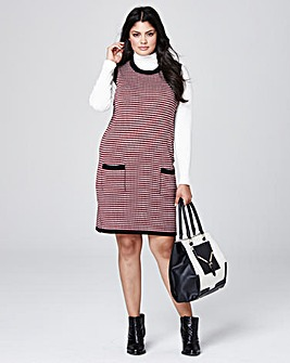 Knitted Jacquard Tunic