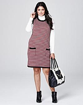Knitted Jacquard Tunic