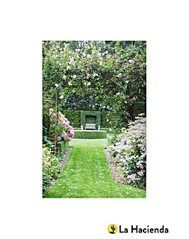 English Country Garden Outdoor Canvas