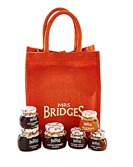 Mrs Bridges Best of Bridges Jute Bag