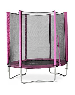 Plum 6ft Pink Trampoline & Enclosure