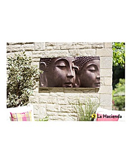 La Hacienda Buddah Outdoor Canvas