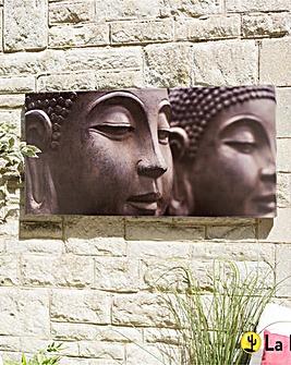 La Hacienda Buddha Outdoor Canvas