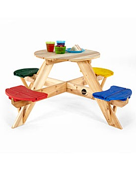 Plum Childrens Garden Picnic Table