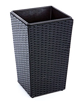 Le Mans Small Rattan Planter