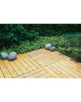 Forest Patio Deck Tiles