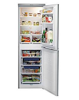 hotpoint fridge freezer silver