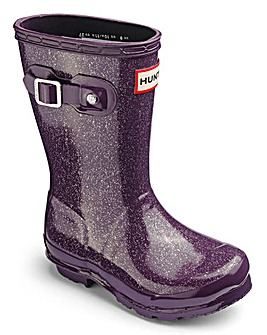 Hunter Original Glitter Finish Boots