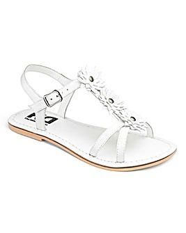 TKD Girls Flower Sandals