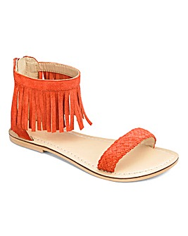 Joe Browns Girls Fringe Sandals