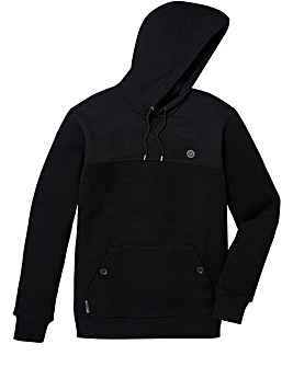 Voi Cross Knit Hooded Jumper
