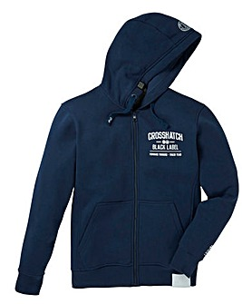 Crosshatch Beaky Zip Hoody