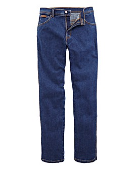 Wrangler Texas Stretch DkStone 32 In Leg