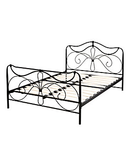 Lily Double Metal Bedstead