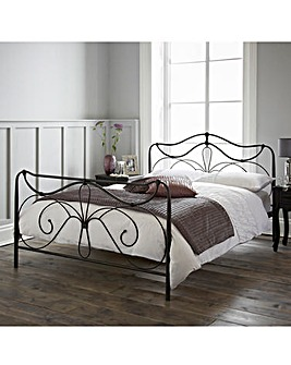 Lily Double Bed with Memory Mattress
