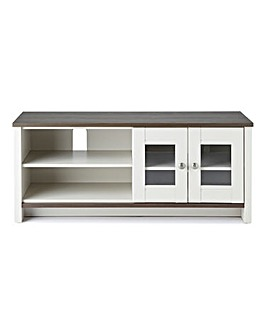 Salcombe Ready Assembled Wide TV Unit