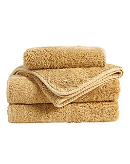 Christy Harrogate Towel Range-Sandstone
