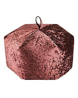 Crushed Velvet Beanbag