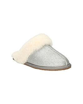Clarks Warm Glitz Slippers