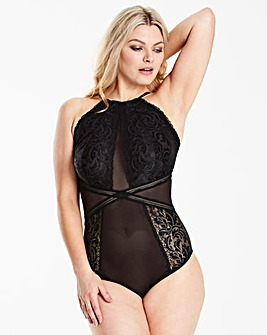 Rebel High Neck Black Body