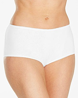 4 Pack Cotton White Shorts