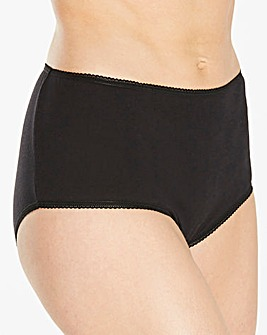 4 Pack Basic Black/Blush Shorts
