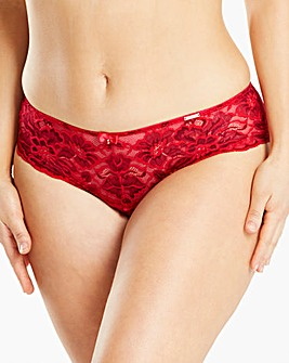 The Rose Lace Midi Brazilian Briefs