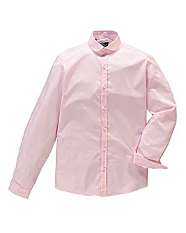 Black Label by Jacamo Pink Penny Shirt L