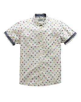 Jacamo Mardsen S/S Printed Shirt Long