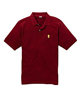Capsule Wine Embroidered Polo Regular