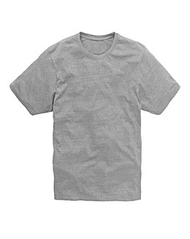Capsule Crew Neck Grey T-shirt Long
