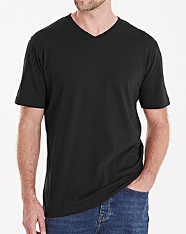 Capsule Black V-Neck T-shirt R