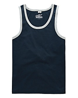 Jacamo Navy Callahan Vest Top