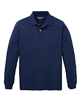 Capsule Navy L/S Griffin Polo Long