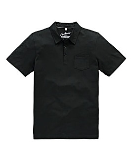 Capsule Black Austin Jersey Polo Shirt L