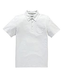 Capsule White Austin Jersey Polo Shirt R