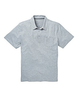 Capsule Grey Austin Jersey Polo Shirt R