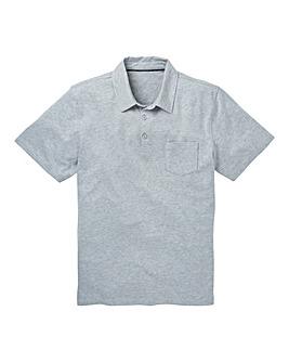 Capsule Grey Austin Jersey Polo Shirt L