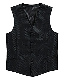 Black Label by Jacamo Waistcoat Long