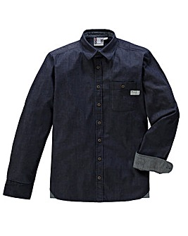Fenchurch Rake Denim Shirt Long