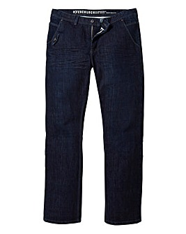 Fenchurch Asphalt Jeans 33in Leg