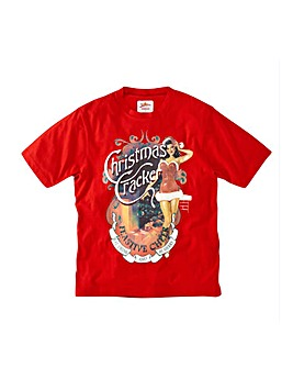 Joe Browns Christmas Cracker Tee Regular