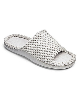 Heavenly Soles Comfort Slide Slipper EEE